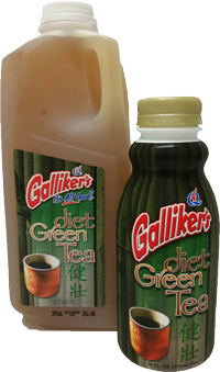 Diet Green Tea with Honey and Ginseng